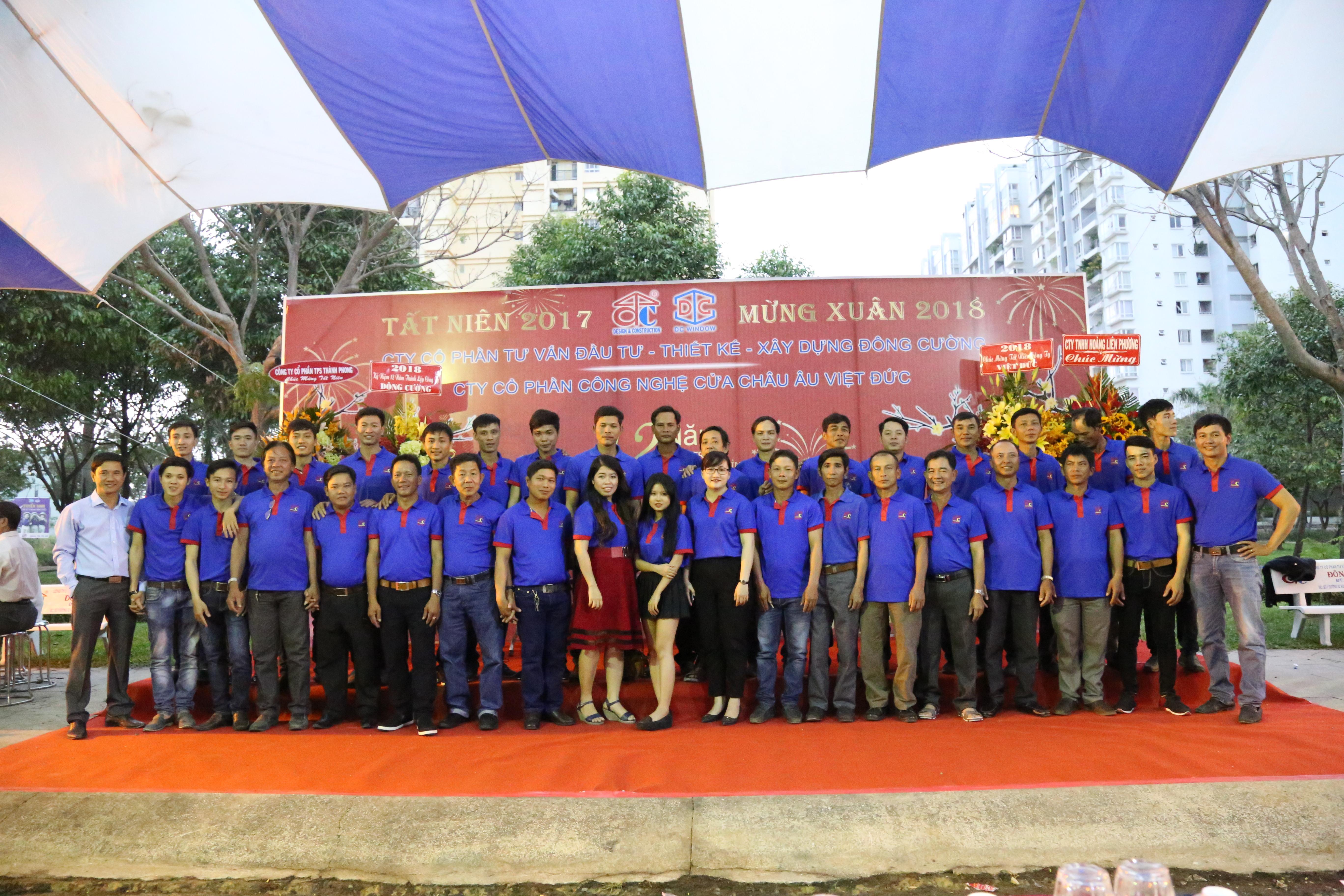 Tiệc tất niên mừng 12 năm thành lập và phát triển Công ty Đông Cường